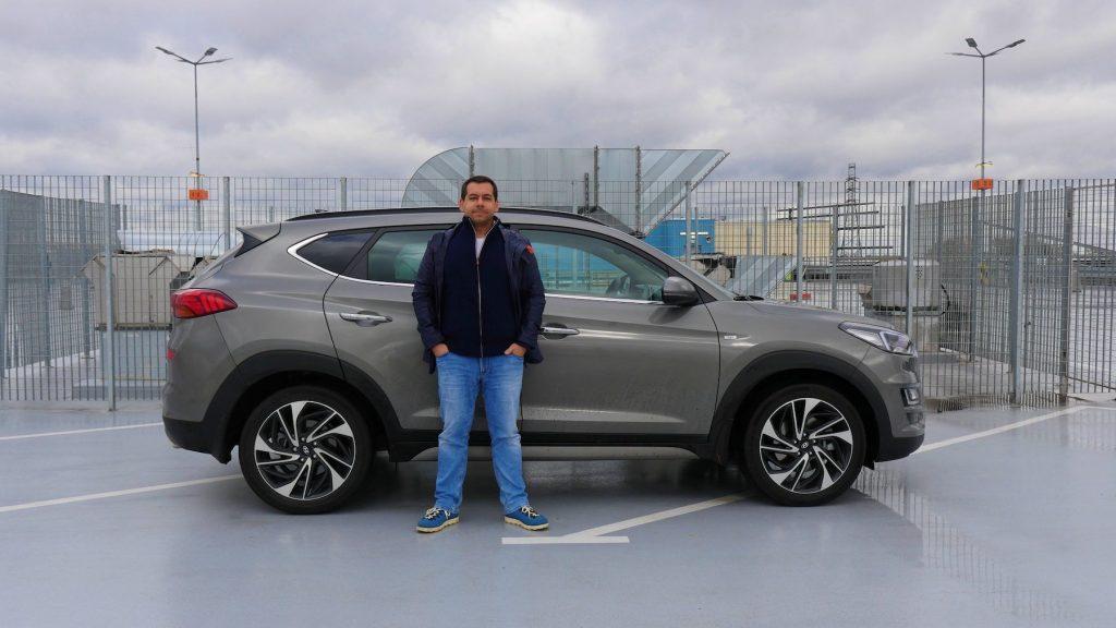 Hyundai Tucson 2019 - (trochę) hybrydowy SUV - wieruszewski com